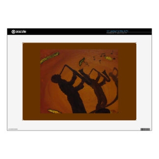 Jazz del arte de Brown Saxiphone Portátil 38,1cm Skins