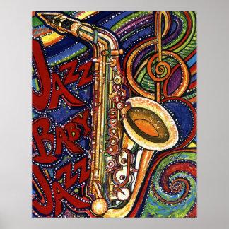 Jazz del bebé del jazz poster