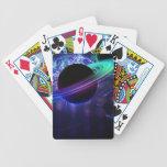 Jazz del espacio baraja cartas de poker