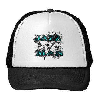 Jazz del hombre del jazz gorras de camionero