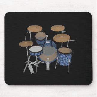 Jazz Drum Set - Custom Blue Finish - Mousepad