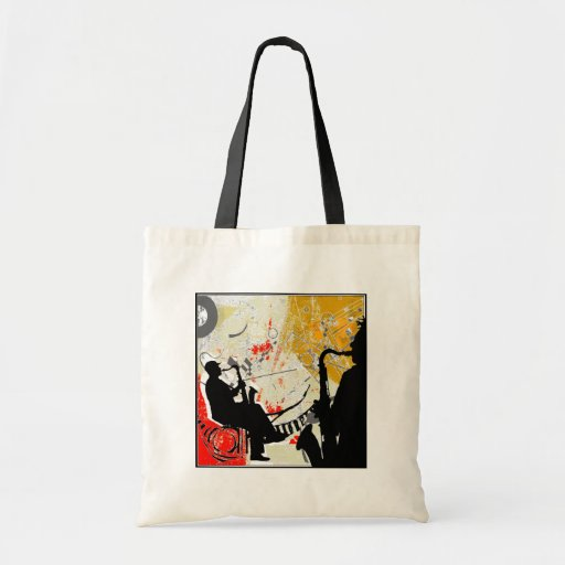 Jazz Dudes Budget Tote Bag