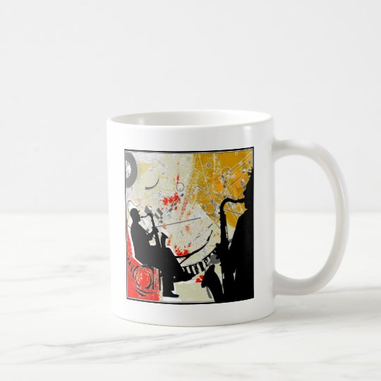 Jazz Dudes Coffee Mug