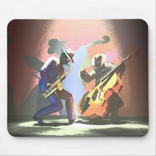 Jazz Duel Mouse Pads