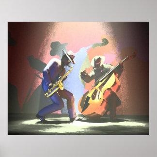 Jazz Duel Poster