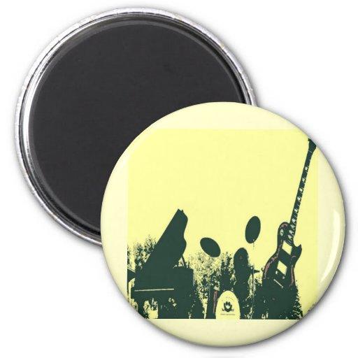 Jazz él Up/Band Imán Redondo 5 Cm