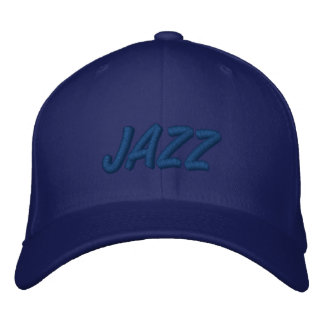JAZZ EMBROIDERED BASEBALL HAT