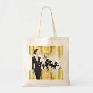 Jazz en la bolsa de asas del parque, tema de la