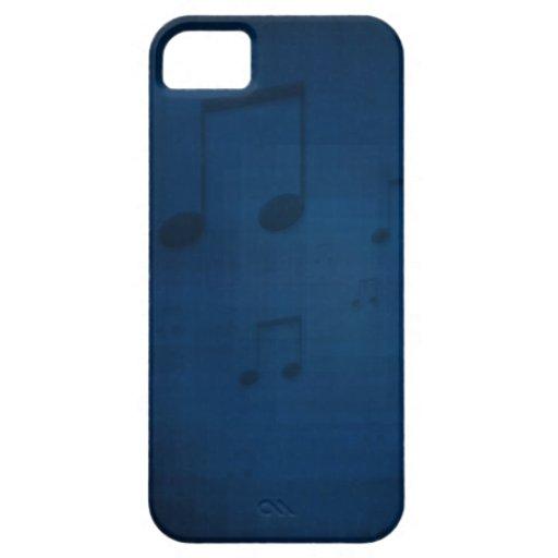 Jazz en la caja azul del iPhone 5 iPhone 5 Protector