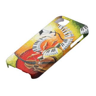 Jazz en la caja de la casamata del iPhone 5 de las Funda Para iPhone 5 Barely There