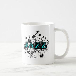 Jazz enrrollado tazas de café
