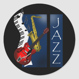 Jazz Etiquetas Redondas