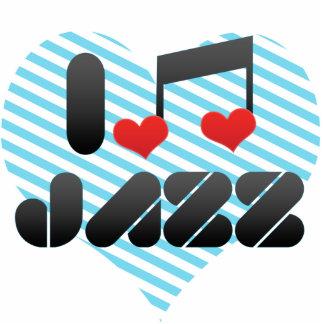 Jazz fan acrylic cut outs