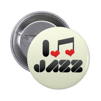 Jazz fan pin
