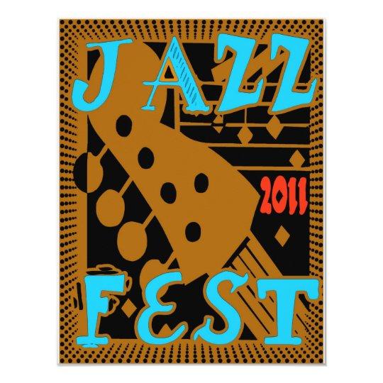 Jazz Fest 2011 Guitar Card