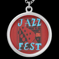Jazz Fest 2011 Guitar necklaces