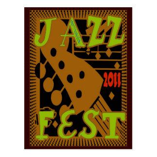 Jazz Fest 2011 Guitar Post Card