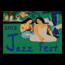 Jazz Fest 2012, Sitting by the tree posters