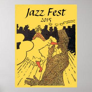Jazz Fest 2015, add edit text Poster