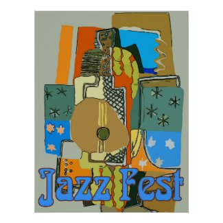 Jazz fest, Abstract Guitar