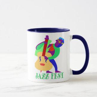 Jazz Fest Blues Man Mug