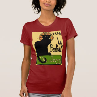 Jazz Fest Chat Noir 1896 T-Shirt