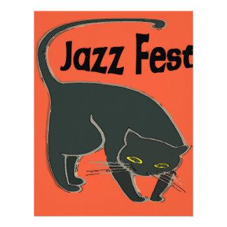 Jazz Fest Chat Noir, Red 2015 Letterhead