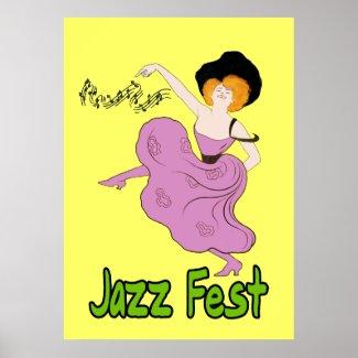 Jazz Fest Follies print