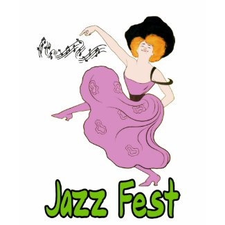 Jazz Fest Follies shirt