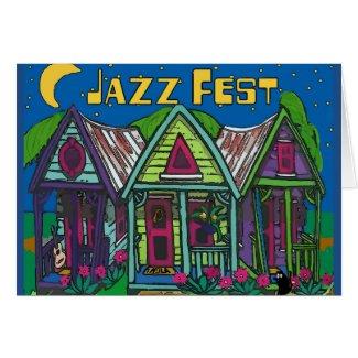 Jazz fest Houses
