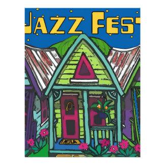 Jazz fest Houses Letterhead