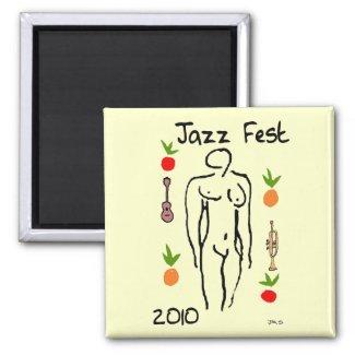 Jazz Fest Matisse Style magnet