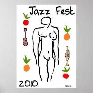 Jazz Fest Matisse Style print