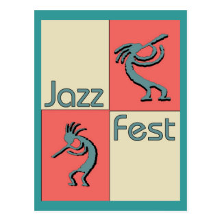 Jazz Fest Pellies Postcard