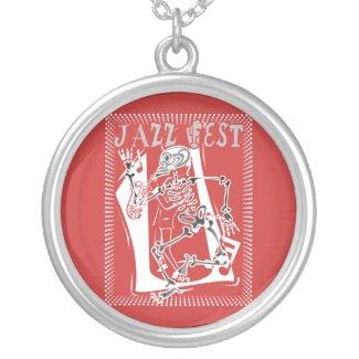 Jazz Fest Skeleton 2011 necklace