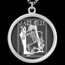 Jazz Fest Skelton necklaces