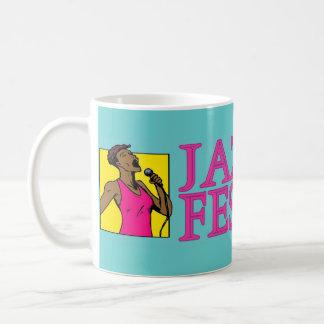 Jazz Festival, Singer Coffee Mug