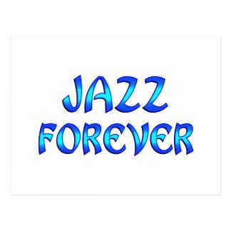 Jazz Forever Postcard