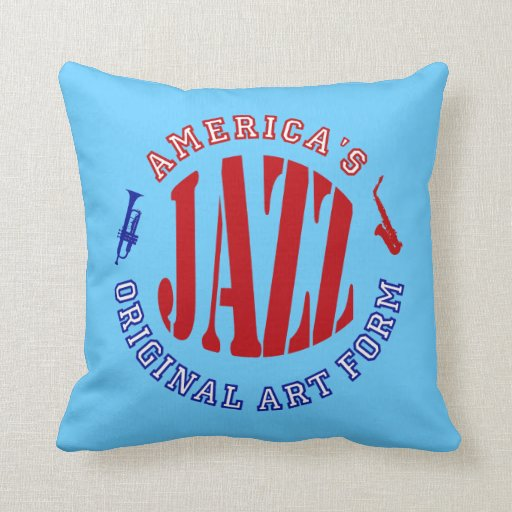 Jazz, forma del arte original de América Almohadas
