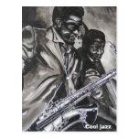 Jazz fresco postal