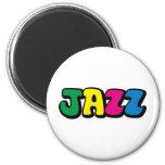Jazz Fridge Magnets