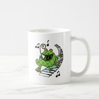 Jazz Frog Mug