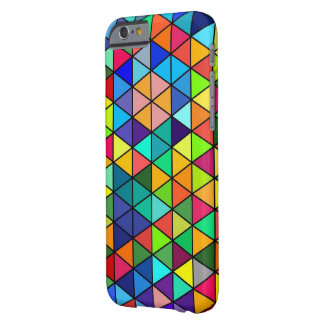 Jazz funk Triangles Barely There iPhone 6 Case
