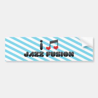 Jazz Fusion fan Bumper Stickers