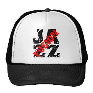 Jazz fusion mesh hats