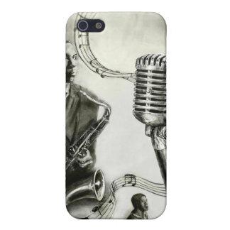 Jazz grande iPhone 5 carcasas