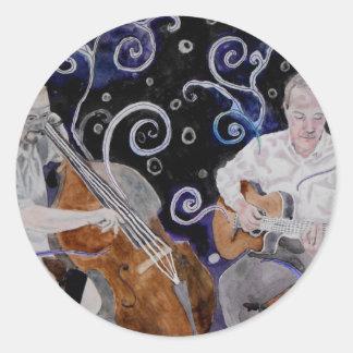 jazz guitar sticker