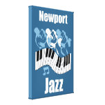 Jazz Impresiones En Lona Estiradas