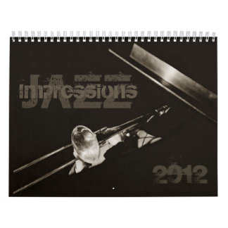Jazz Impressions Musicians Music Jazz Band Wall Calendars