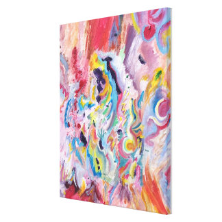 Jazz Improv (2005) Canvas Print